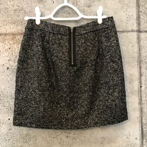GAP Black Tweed mini skirt 0
